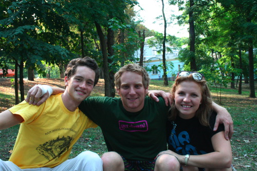 Daniil, Ramon and Dasha